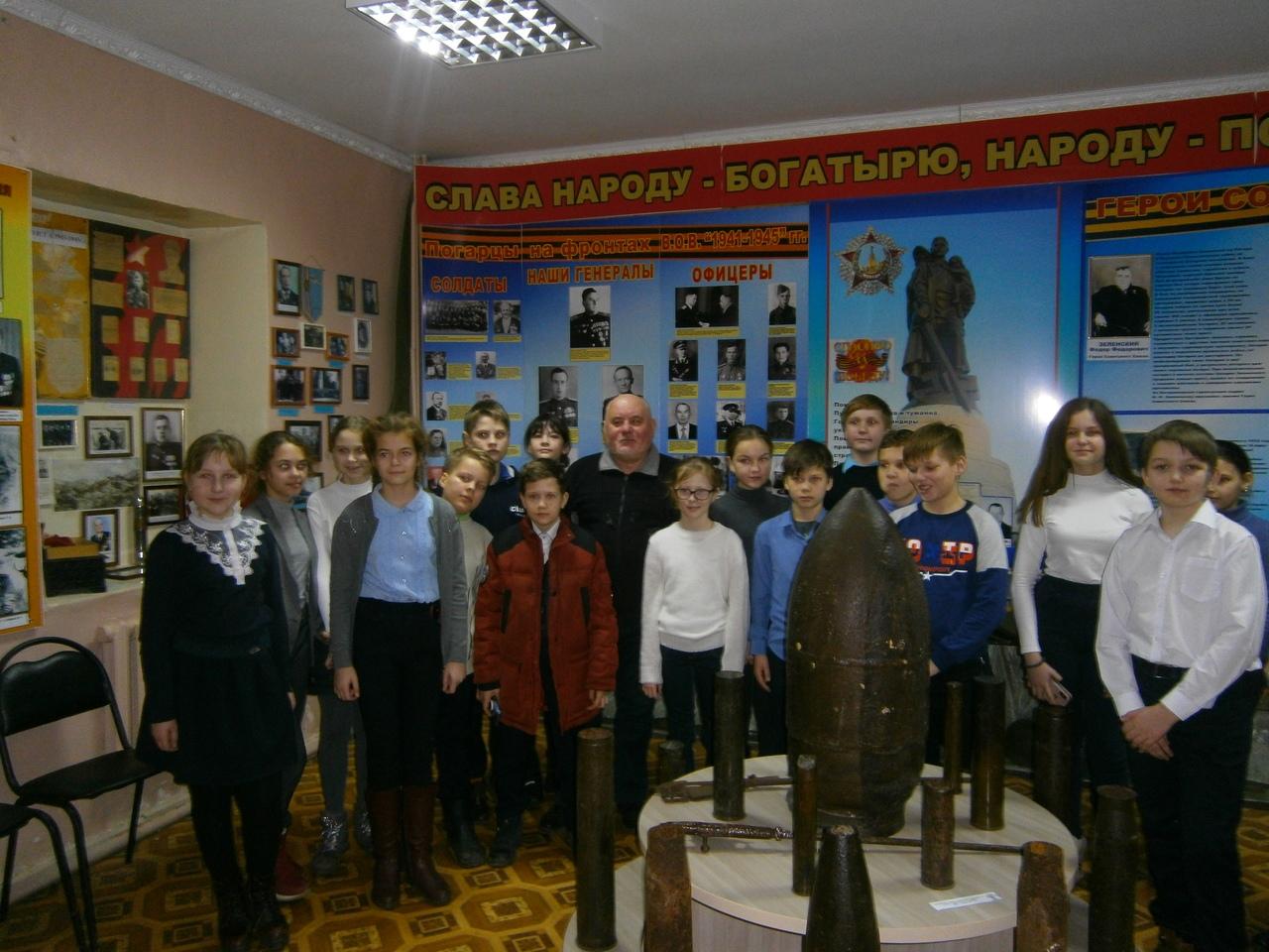 Урок мужества «Погарцы, оборонявшие Ленинград»