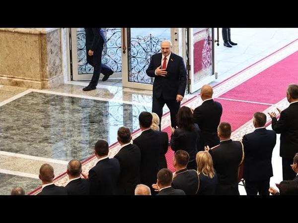 Окружили Лукашенко вывели уже началось Старик в шоке только что прощения нет Это крах