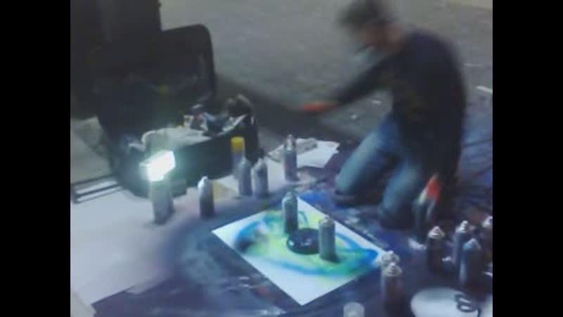 Spraypainting