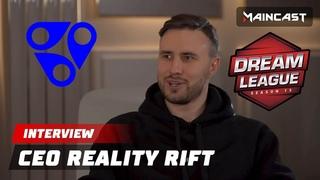 Интервью с ceo Reality Rift на The Leipzig Major