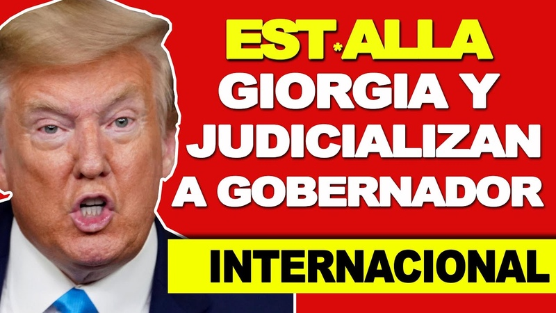 🔴NOTICIAS HOY 26 NOVIEMBRE 2020 NEWS TODAY Estalla el Escándalo en Giorgia por Fraude Electoral