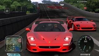 TDU PLATINUM Ferrari F50 600+hp hardcore mode cruise 2