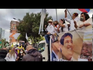El pueblo - En la gran Carabana por la democracia y respaldo al BINOMIO DE LA ESPERANZA (24sep2020)