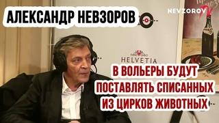 Александр Невзоров: списанных из цирков животных будут продавать для вольерной охоты