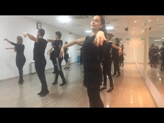 Репетиция в школе лезгинки прямая трансляция