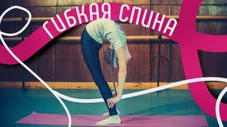 Гибкая спина. Как развить гибкость спины. Упражнения для гибкой спины. Как сделать спину гибкой