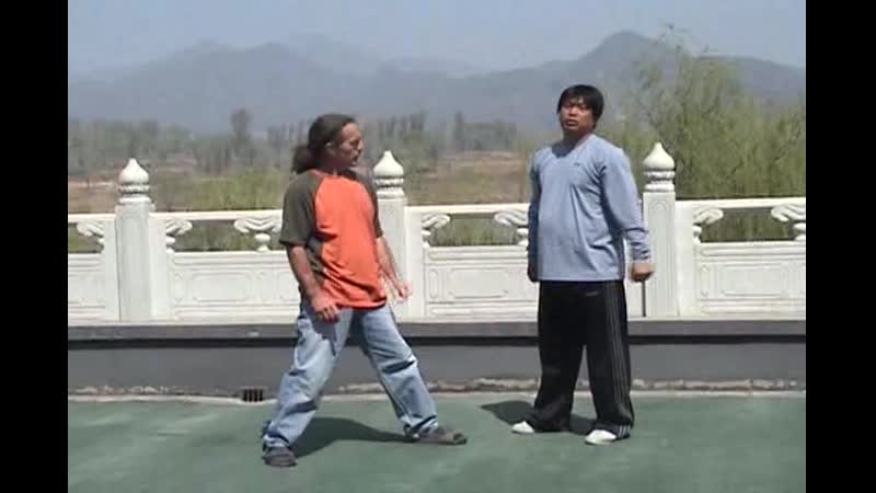 Yin Style Bagua fighting. Seizing and Grasping
