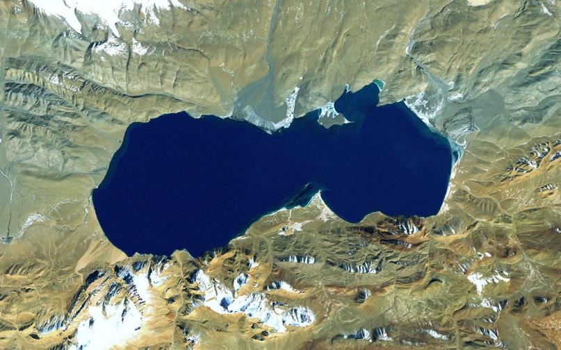 Одно из самых холодных мест Тибетского нагорья.
