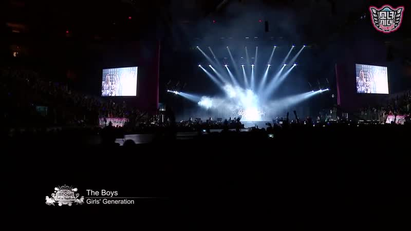 SNSD Girls' Generation The Boys SMTown Live in Madison Square Garden
