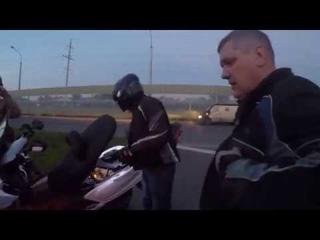 ДТП на Старцева Пермь / Страйк - 3 мотоцикла