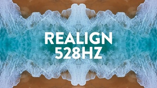 Realign 528Hz ✦ Healing Music for Sleep ✦ Reduce Stress and Release Negative Energy