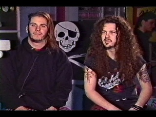 Pantera (Phil Anselmo & Dimebag Darrell) On The Power Hour (October, 1990)