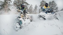 На квадроциклах по глубокому снегу Покатушка на новом CF MOTO X1000