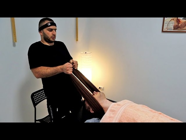 ASMR Chiropractic Adjustments and Powerful Back Massage In Russia