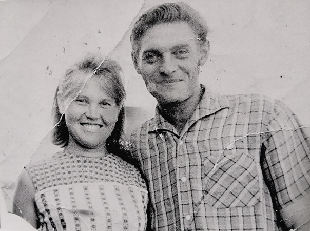 Зинаида Дмитриевна Колпакова с мужем Владимиром Николаевичем