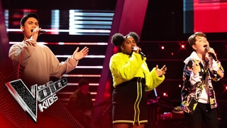 Ned, Maylah and Joshua Perform 'Stop' | The Battles | The Voice Kids UK 2020