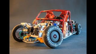 Super scale active suspension, arduino powered, 3D printed, RC drift, Oldsmobile Dynamic 88 *SHORT*