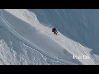 Snowboarding alaska lines with travis rice, brothers mcmorris