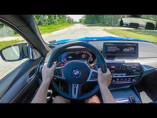 2021 BMW M5 Competition - POV Test Drive (Binaural Audio)