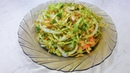 Салат на каждый день! Витаминный салат из свежей капусты Простой салат