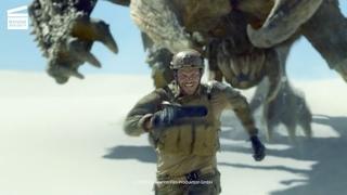 Monster Hunter : Diablos attaque l'équipe d'Artemis (CLIP HD)