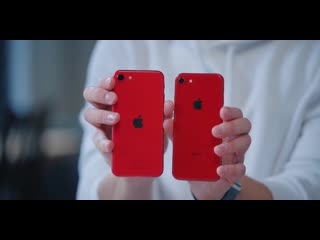 iPhone SE (2020) vs iPhone 8 vs iPhone SE (2016)  распаковка