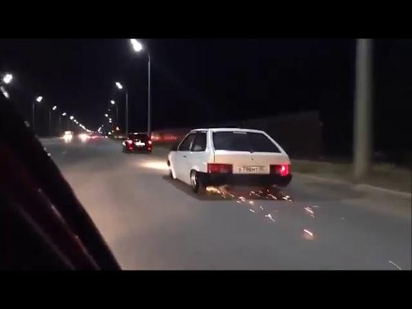 Подборка искрящих авто БПАН КТА Искры Дым Посадка