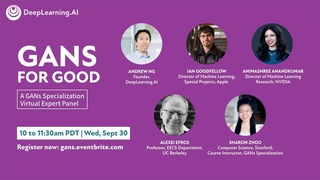 GANs for Good- A Virtual Expert Panel by