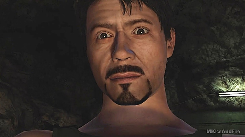 Iron Man Builds Mark 1 Escaping Cave Fight Scene - Iron Man Game