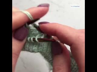 Лучший способ для оформления   Вязание