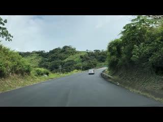 Costa rica road to san jose