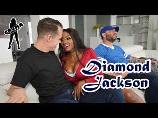 Diamond Jackson - Замена нападающего порно с переводом, русские субтитры