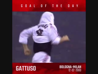 Onthisday the boss slots home his first ever rossoneri goal in the top league