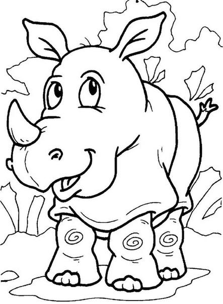 Большое пополнение красивых раскрасок для детей от года до 10 лет в разделе на сайте - в мире животных