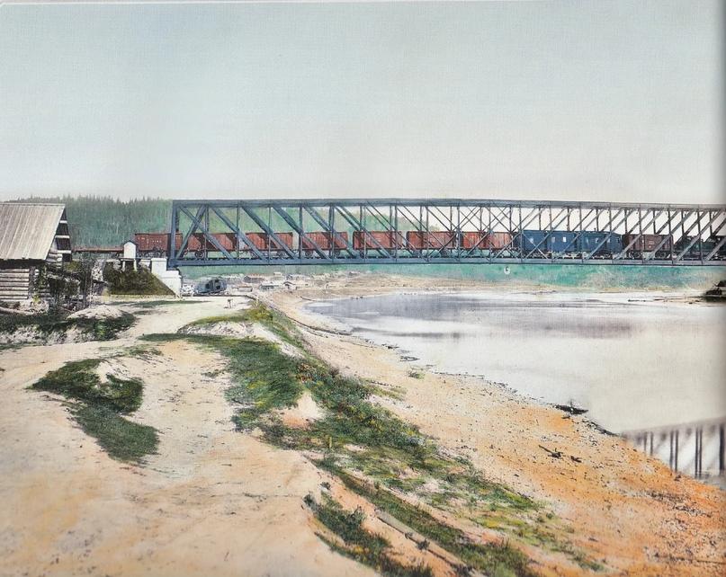 Первозданная железнодорожная Россия в цвете эпохи царской Империи глазами неизвестного фотографа, изображение №7