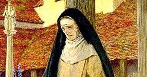 СВЯТАЯ ДИАНА Тут спрашивали, есть ли симпатичные святые. Вот, пожалуйста. Католическая святая - блаженная Диана ДАндало. Жила в начале XIII века. Семья у нее была придурочная, ее били, и