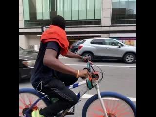 Карма для велооленя