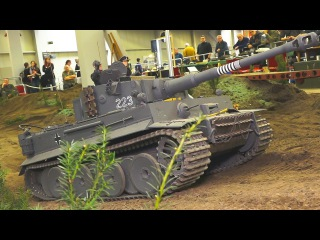 HEAVY WEIGHT 150 KG RC MODEL TANK IN XXL SCALE!! TIGER 1  RC MODEL MILITARY VEHICLES