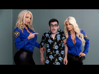 Brittany Andrews, Nicolette Shea - Fucking His Way Into the  [Brazzers] Big tits, Threesome, Ha
