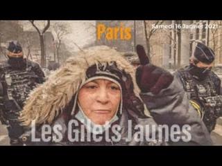 En direct: Les Gilets Jaunes #Paris #16Janvier2021