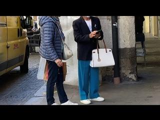Элегантный возраст: как выглядеть современно, Как одевается итальянки в элегантном возрасте