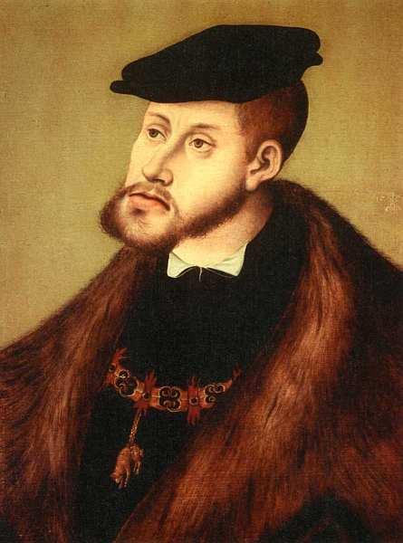 «Портрет Императора Карла V», Лукас Кранах Старший
