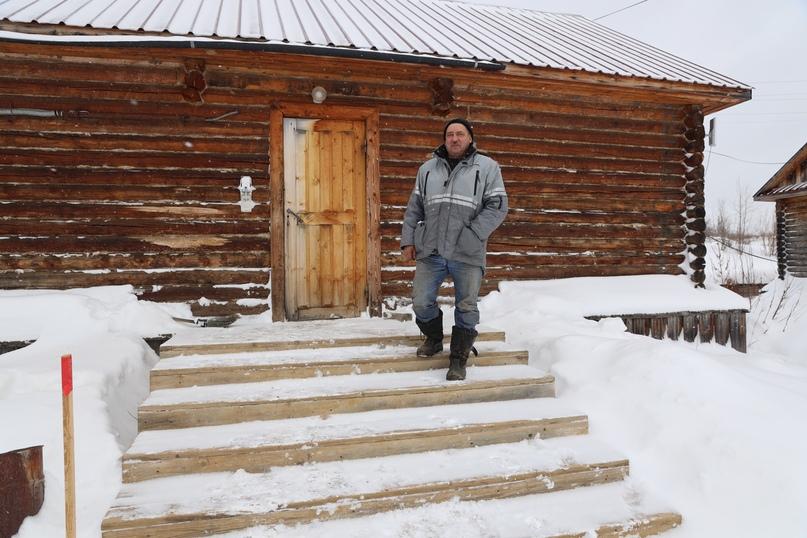 Старший механик Николай Удалов.