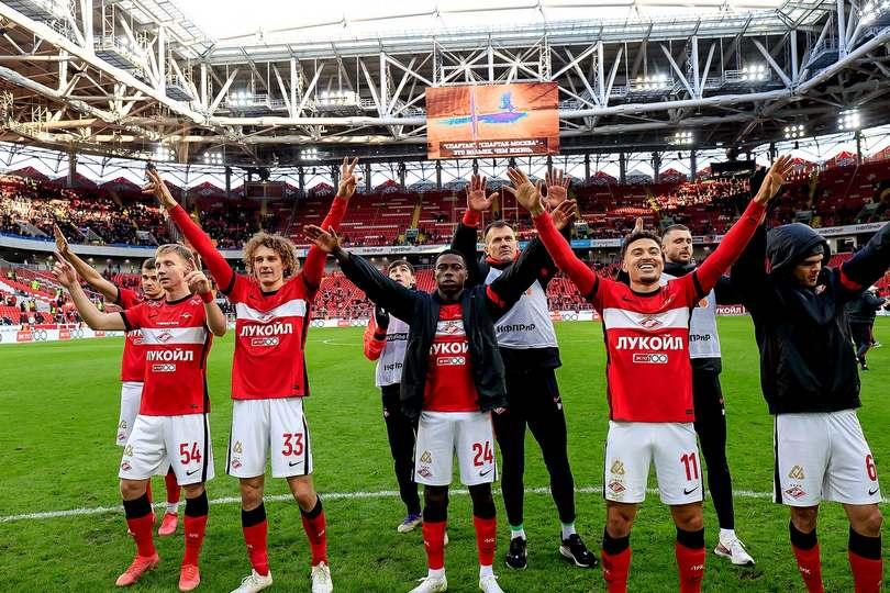 «Спартак» оказался сильнее ЦСКА. Фото с дерби