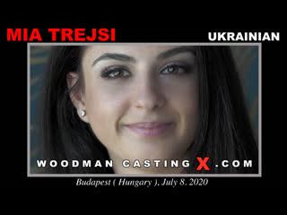 Интервью с 20-летней Украинкой Mia Trejsi на кастинге у Пьера Вудмана (Порно, Анал секс, Голая, Попки, Грудь, Woodman Casting)