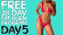 DAY 5 FREE 28 DAY WORKOUT CHALLENGE Pilates Full Body Sculpt Timer Modifications Included