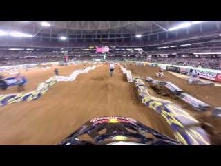 GoPro HD: James Stewart Main Event 2014 Monster Energy Supercross from Atlanta