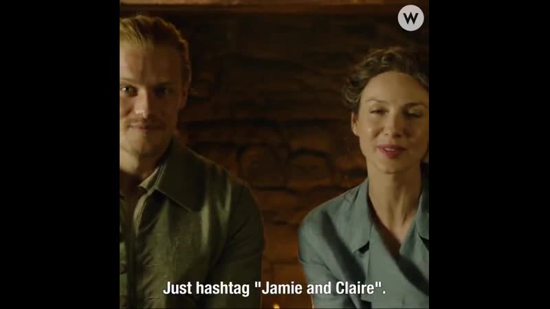 Outlander clan Dont forget to the emojis are back JamieandClaire BreeandRoger