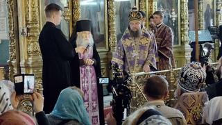 Схиархимандрит Илий в Покровском соборе города Астрахани.