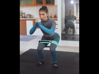 Ассорти упражнений с финес-резинкой